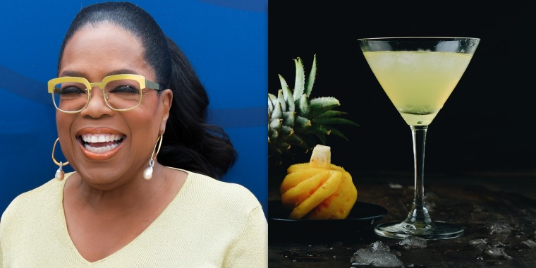 Oprah just shared the recipe for her favorite low-sugar cocktail