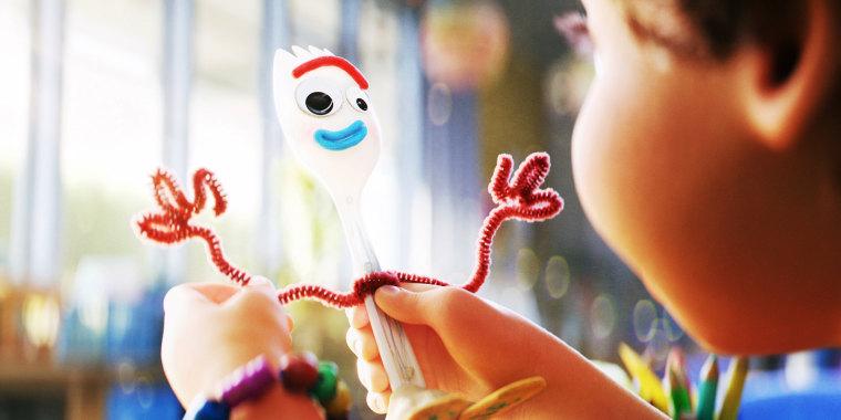 Toy Story 4's Forky