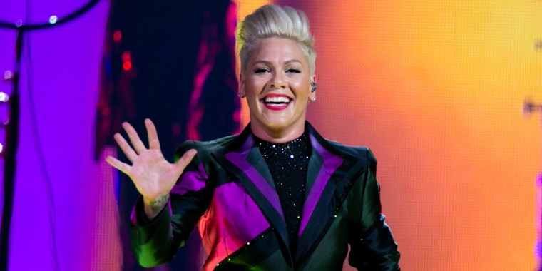 Pink's reaction to a fan giving birth at her Liverpool show