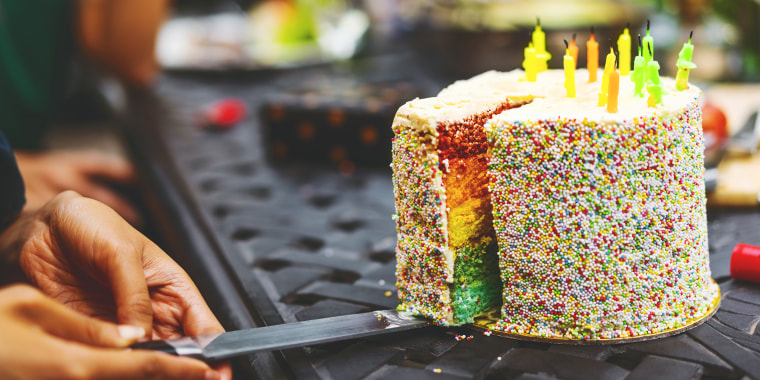 Cake-cutting cake