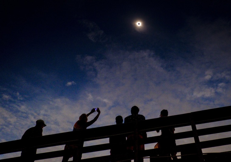 Image: Best of Year 2017: Solar Eclipse Visible Across Swath Of U.S.