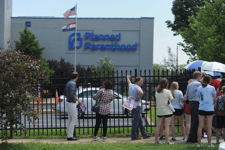Image: Planned Parenthood Clinic Missouri