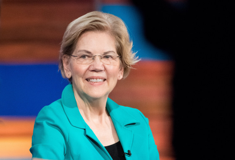 Elizabeth Warren jumps out to a big lead in MoveOn poll