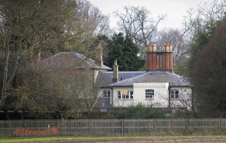 Image: Frogmore Cottage, the home of Prince Harry The Duke of Sussex and Meghan The Duchess of Sussex, in Windsor