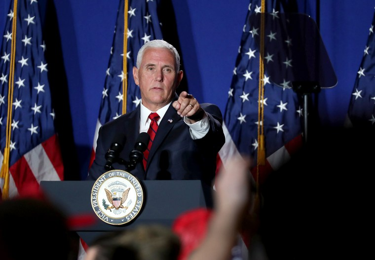 "Image: Mike Pence Launches ""Latinos For Trump"" Coalition In Miami"
