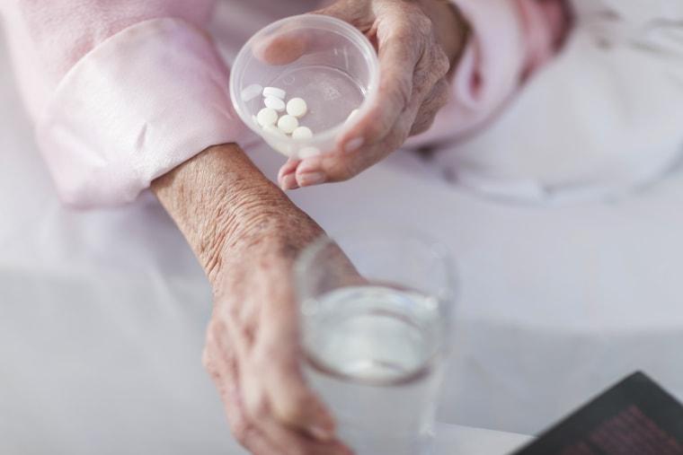 Patient taking medication