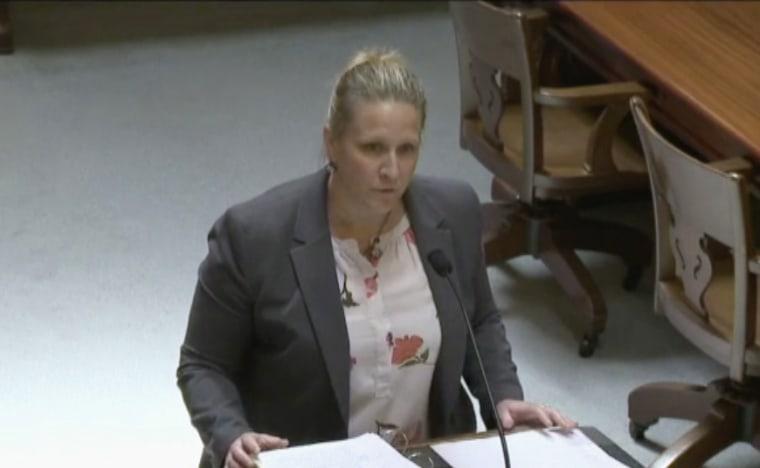 Image: Sarah Fabian, DOJ lawyer