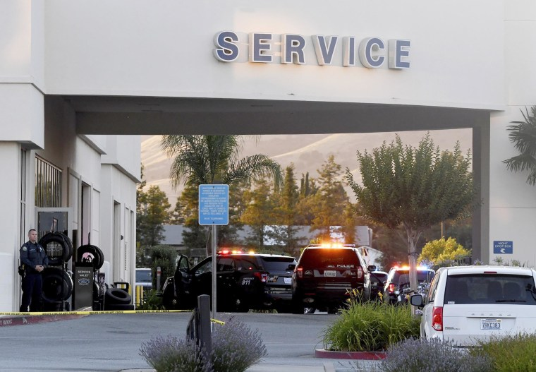 2 Ford dealership employees and the gunman dead in shooting