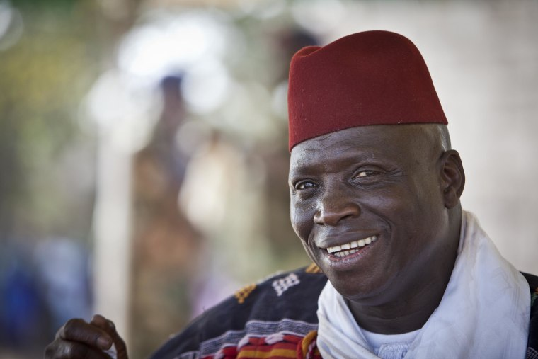 Image: President Yahya Jammeh of The Gambia, West Africa