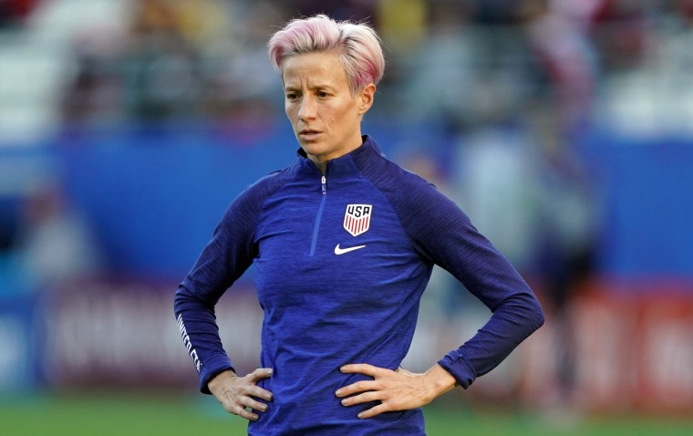 Trump tells U.S. soccer star Megan Rapinoe to 'never disrespect' the White House