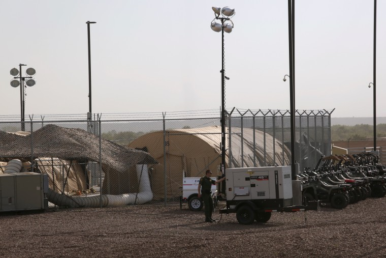 Image: CBP facility in in Clint, Texas
