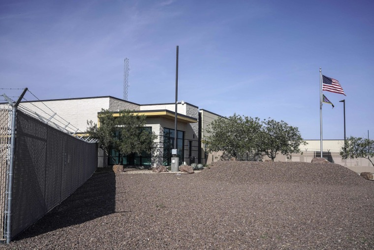 Image: The U.S. Customs and Border Protection facility in Clint, Texas