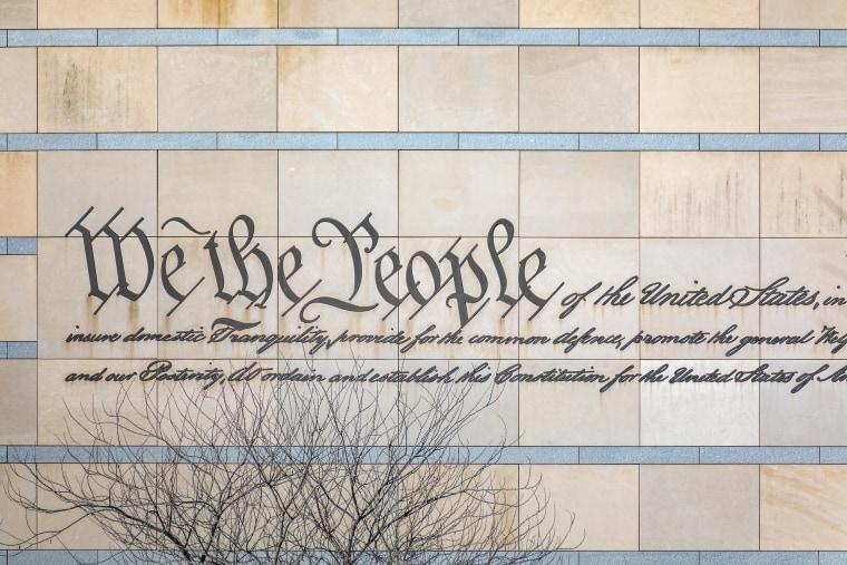 Image: We the People Engraved in Philadelphia