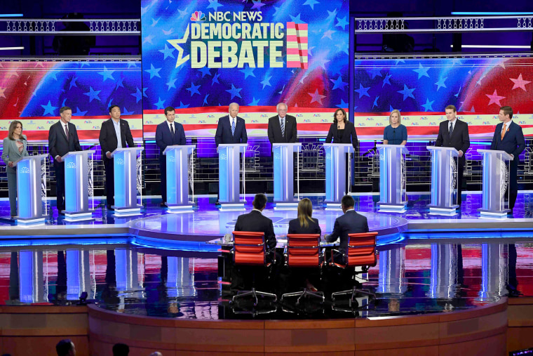Image: US-VOTE-2020-DEMOCRATS-DEBATE