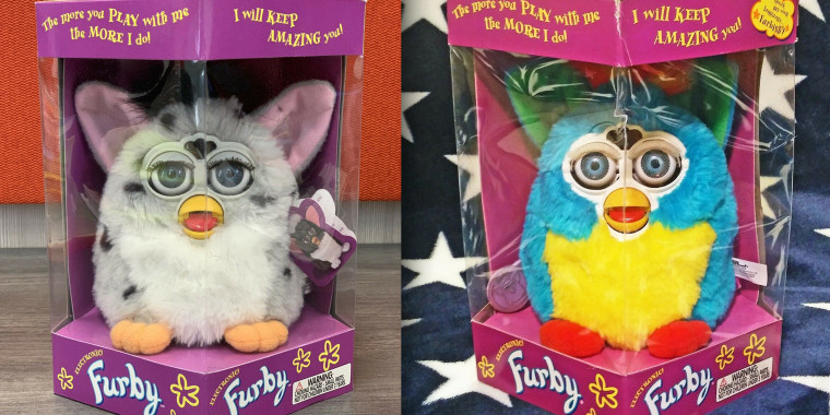 Furby selling for big bucks on eBay