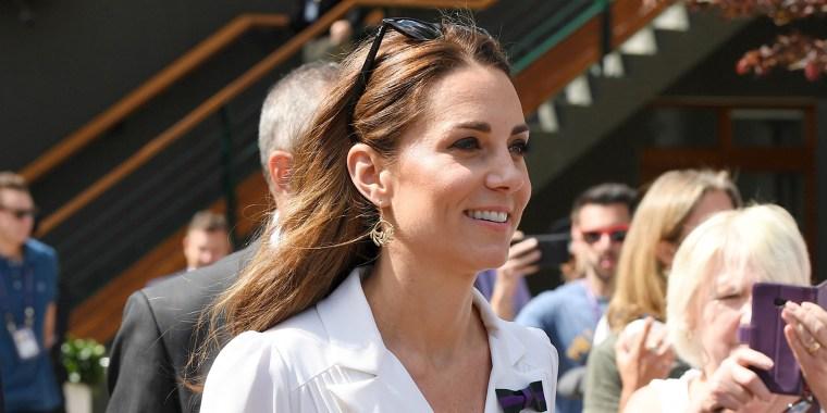 Duchess Kate at Wimbledon