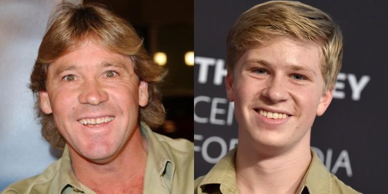 Steve Irwin's son follows dad'...