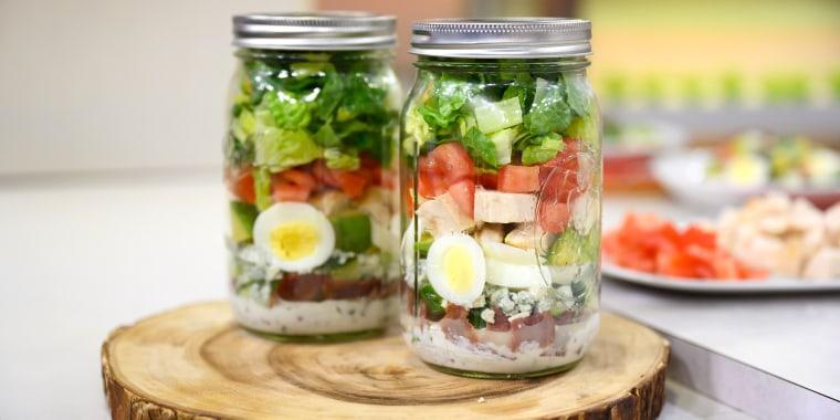 Joy Bauer's Cobb Salad in a Jar