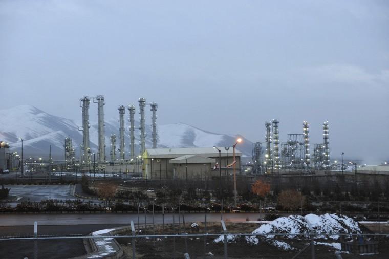 Image: The heavy water nuclear facility near Arak, 250 kilometers southwest of the capital Tehran, Iran.