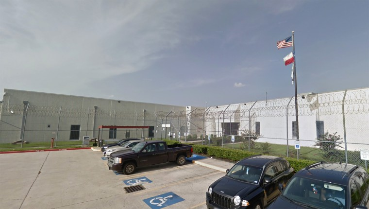 Image: Houston Contract Detention Facility