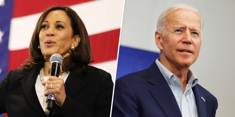 Kamala Harris Endorses Joe Biden for President 'With Great Enthusiasm'
