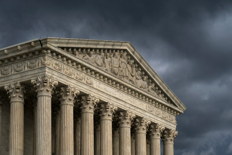 Image: The Supreme Court under stormy skies on June 20, 2019.