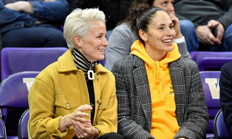Image: Sue Bird and Megan Rapinoe