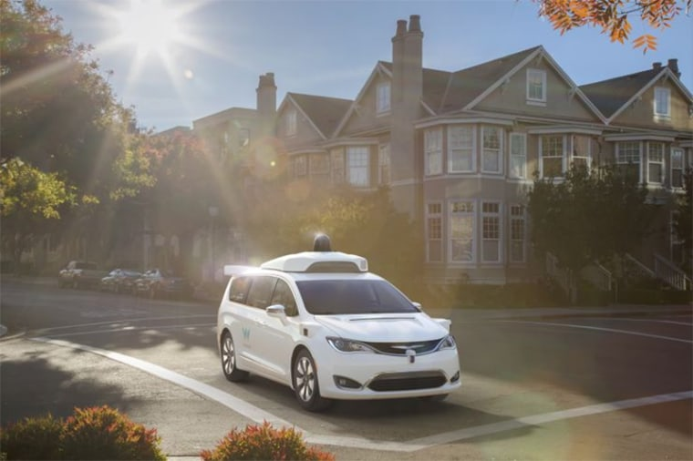 Image: FCA delivers to Waymo