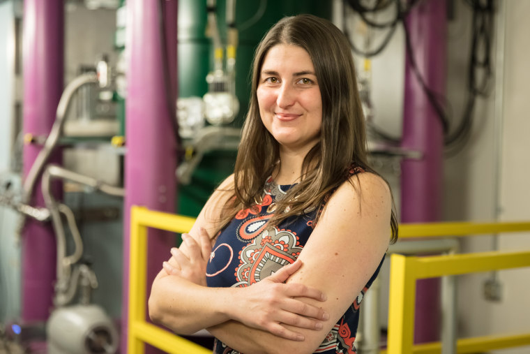 Image: Leah Broussard, physicist