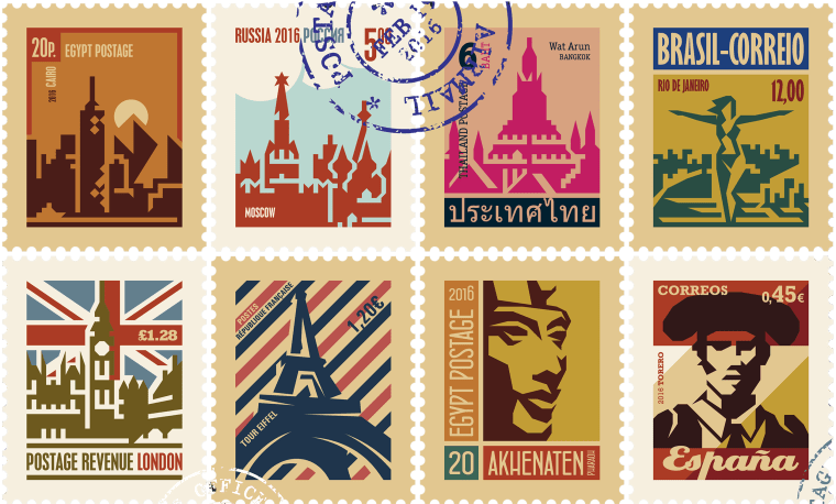 Image: postage stamps