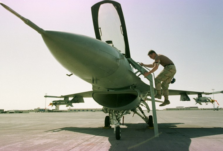 U.S. military has begun reestablishing air base inside Saudi Arabia