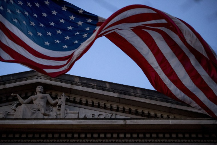 Image: American Flag, Justice Deptarment