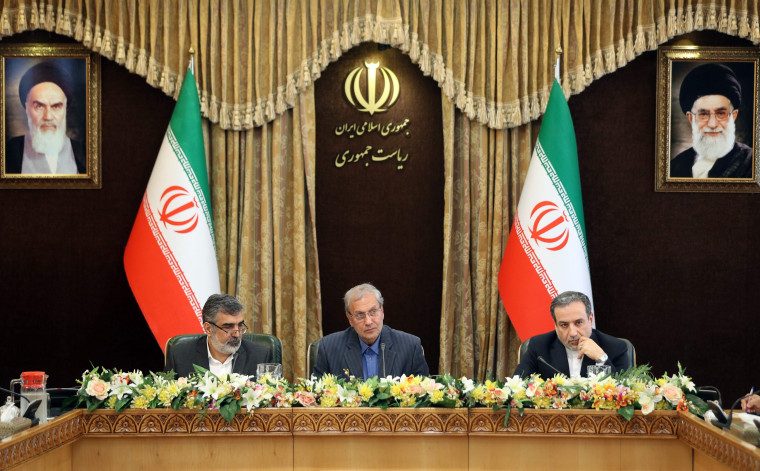 Image: IRAN-NUCLEAR-POLITICS-DIPLOMACY