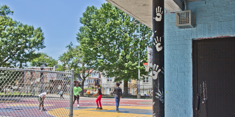 Barrett Playground is one of 30 Philly parks that contain sonic devices that target young people by emitting a high frequency.