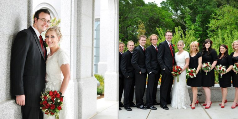 A woman found a flash drive with wedding photos in a thrift store lunch bag.