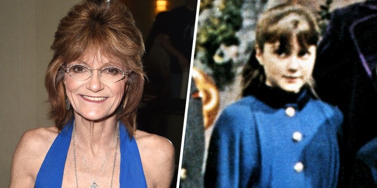 Denise Nickerson, who played Violet Beauregard in Willy Wonka & the Chocolate Factory