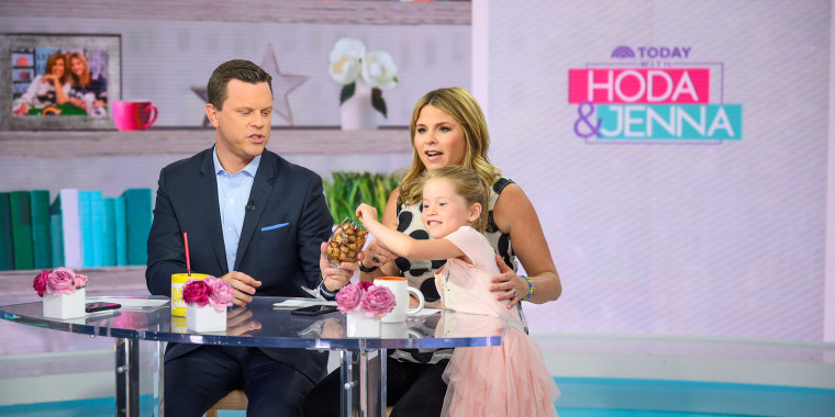 Mila couldn't help but take part in Thursday's show.