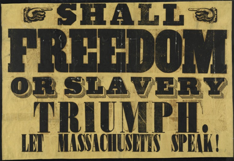 Image: Anti-Slavery Sign