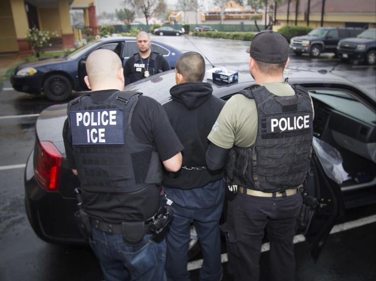 Image: ICE raid