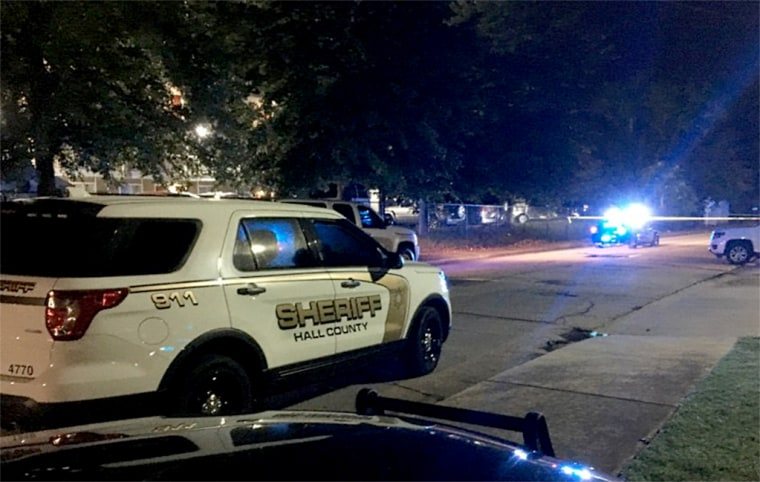 Image: A Hall County Sheriff's Deputy was shot and killed in Gainesville, Georgia, on July 7, 2019.