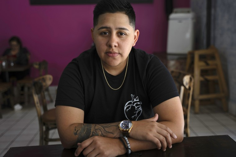 Marisa Rivas is on a low-dose testosterone treatment aiming for an appearance that is not clearly male or female.
