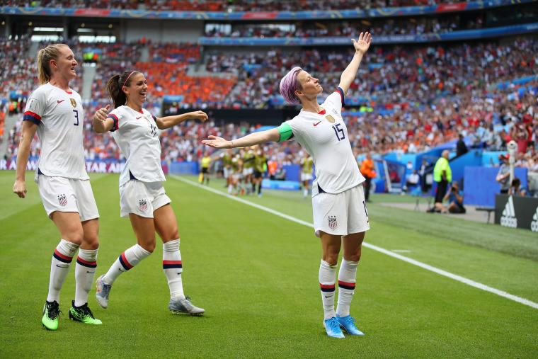 Image: *** BESTPIX *** United States of America v Netherlands : Final - 2019 FIFA Women's World Cup France