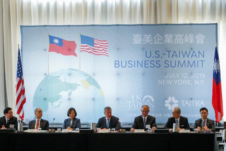 Image: U.S. - Taiwan business summit in New York