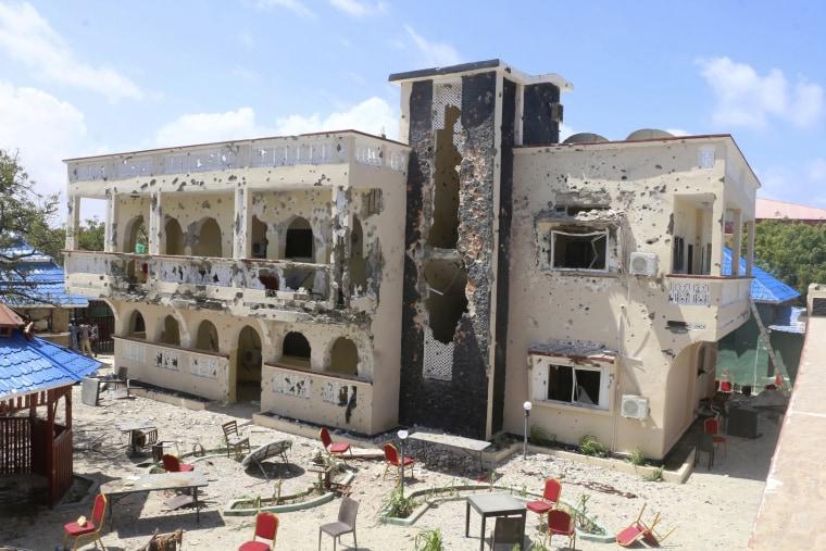 Image: Asasey Hotel attack