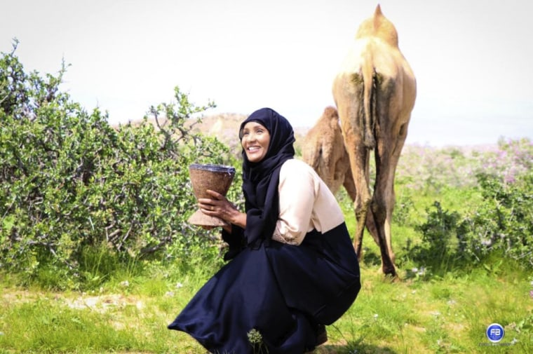 Image: Canadian-Somalian journalist Hodan Nalayeh in Las Anod. Nalayeh was killed after a bomb exploded in Kismayo, Somalia, on July 12, 2019.