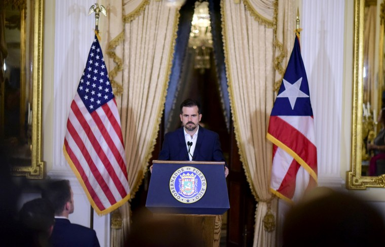 Puerto Rico governor says he's not resigning after private chat scandal