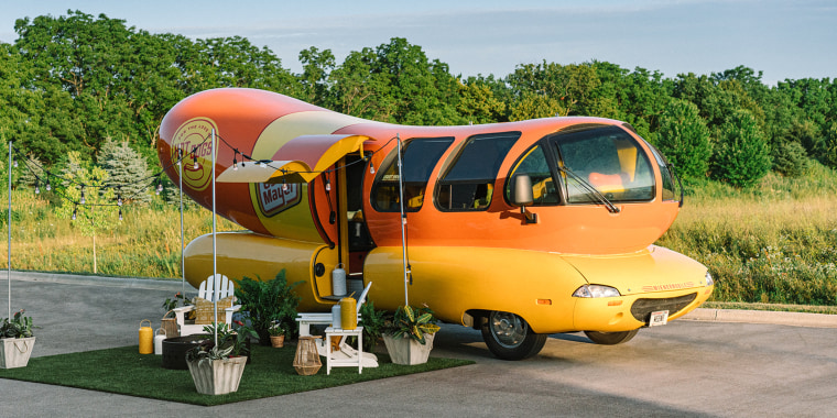 For the first time ever, you can stay overnight in the Oscar Mayer Wienermobile
