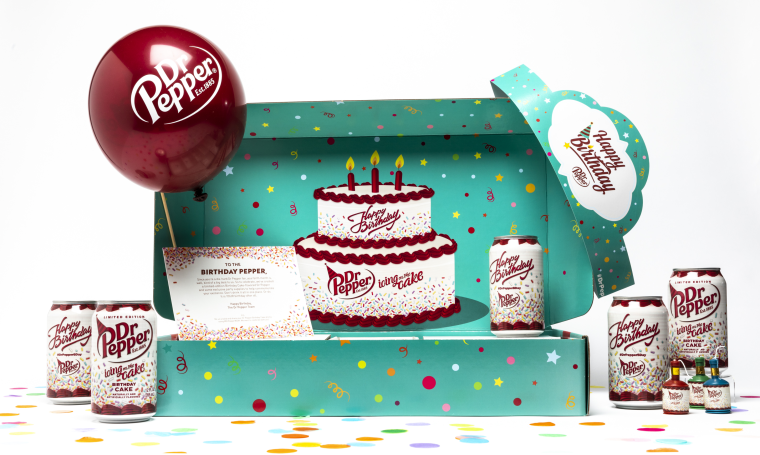 Dr Pepper has a new soda that tastes like birthday cake and vanilla frosting