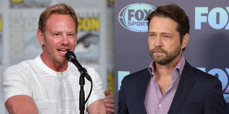 Ian Ziering and Jason Priestley say the 'BH90210' reboot will honor Luke Perry