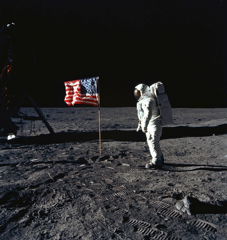 Image: SPACE-US-MOON-ANNIVERSARY-ALDRIN-APOLLO